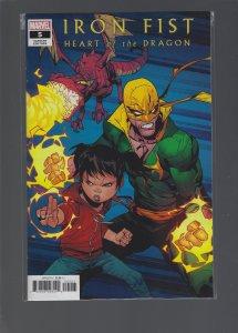 Iron Fist #5 Variant