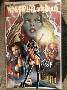 Vampirella #26B Silver The End