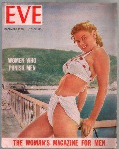 Eve #2  12/1950-Irish McCalla-Sheena-cheesecake-exploitation-FN
