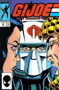 G.I. JOE #64 Marvel Comics (ungraded) stock photo / ID#B-4