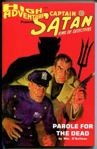 High Adventure-Captain Satan King of Detectives #45 1938-reprint pulp-NM