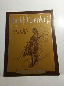 Roy G. Krenkel Portfolio 1 Fantastic Visions Publications