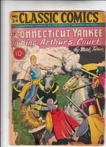 Classic Comics #24 (Jun-54) FR/GD Low-Grade