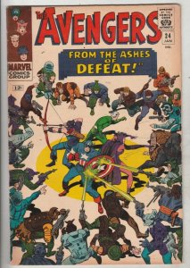 Avengers, The #24 (Jan-66) FN/VF Mid-High-Grade Avengers