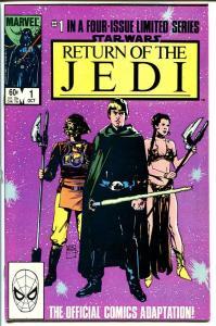 STAR WARS: RETURN OF THE JEDI #1-WILLIAMSON ART VF/NM