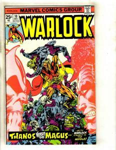 Warlock # 10 NM- Marvel Comic Book Thanos Avengers Hulk Thor Gamora Pip GK4
