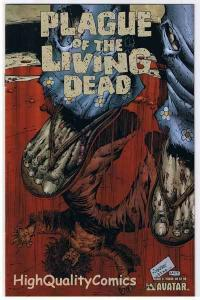 PLAGUE of the LIVING DEAD #6, NM+, Zombies, Terror, 2007, more Horror in store