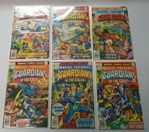 Marvel Presents Guardians of the Galaxy & Star Lord 6 different 4.0 VG