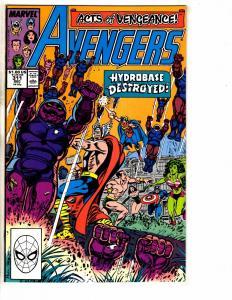 12 Avengers Marvel Comics # 311 312 313 314 315 317 318 325 326 360 + 17 18 J271