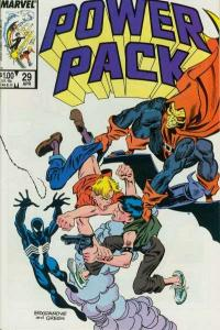 Power Pack (1984 series) #29, VF+ (Stock photo)