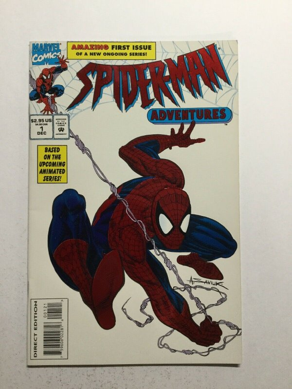 Spider-Man Adventures 1 Near Mint Nm Embossed Cover Marvel
