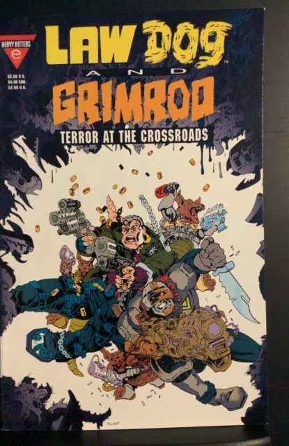 Law Dog & Grimrod: Terror at the Crossroads #1 (1993)