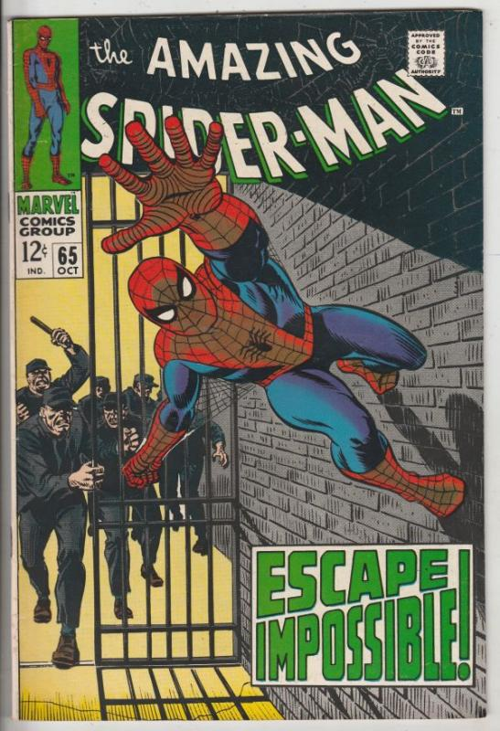 Amazing Spider-Man #65 (Oct-68) VF/NM High-Grade Spider-Man