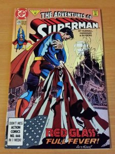 Adventures of Superman #479 ~ NEAR MINT NM ~ (1991, DC Comics)
