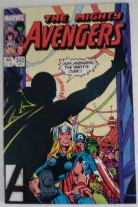 AVENGERS #242 Marvel Comics ID#MBX2