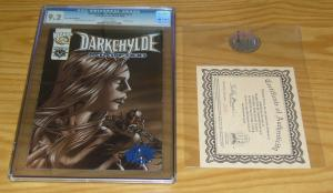 Darkchylde: Redemption #1/2 CGC 9.2 dynamic forces blue foil variant COA half ½