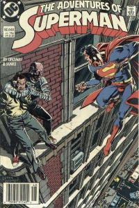 Adventures of Superman (1987 series) #448, NM- (Stock photo)