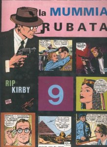 Rip Kirby de John Prentice numero 09: La mummia Rubata