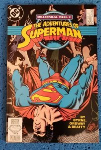 Adventures of Superman #436 (DC, 1988) VF/NM 9.0 John Byrne, Jerry Ordway
