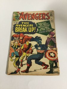 Avengers 10 Gd/Vg Good/Very Good 3.0 Marvel Comics Silver Age