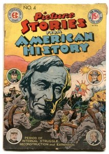 Picture Stories From American History #4 1947- EC Comics VG