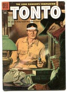 Tonto #19 1955- Dell Western- Lone Ranger's companion VG+