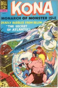 KONA 21 FINE March 1967 COMICS BOOK