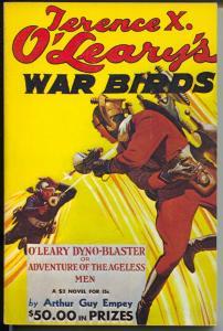 Terence X. O'Leary's War Birds 4/1935-weird menac eair war pulp reprint-FN