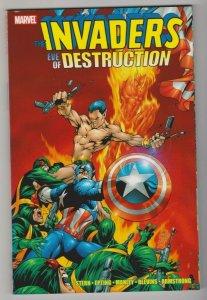 THE INVADERS - EVE of DESTRUCTION 1ST PRINT 2010 MARVEL COMICS TRADE PAPERBACK