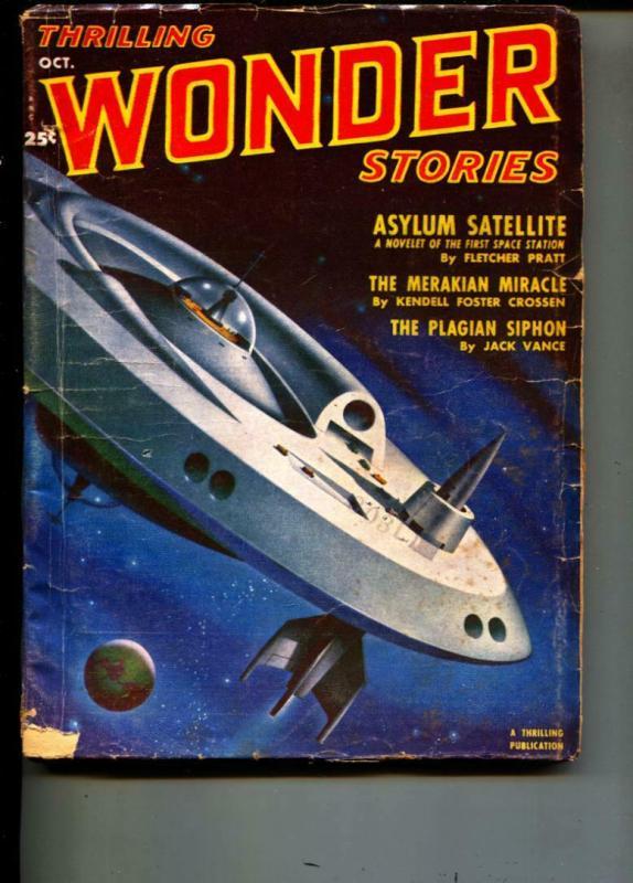 Thrilling Wonder Stories-Pulp-10/1951-Fletcher Pratt-Jack Vance