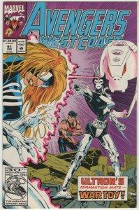 Avengers West Coast #91 (1993) BN#12