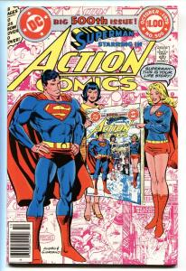 Action #500  1979  Comic Book Supergirl - Infinity cover nm-