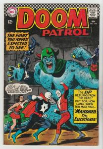Doom Patrol #109 (Feb-67) VG+ Affordable-Grade Proffesor, Negative Man, Elast...