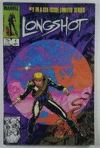 LONGSHOT Complete Run 6 issue Limitied Series 1st Longshot, Spiral, Mojo (1985)