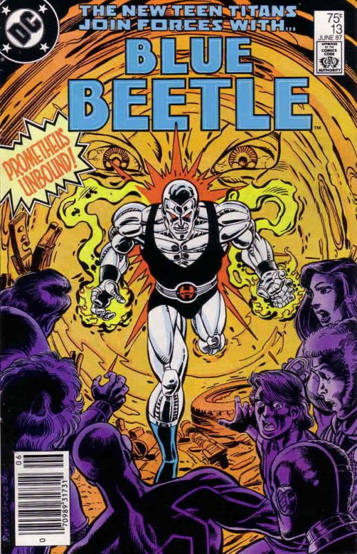 Blue Beetle (3rd Series) #13 FN; DC | save on shipping - details inside