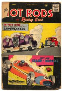 Hot Rods and Racing Cars #38 1959- Juan Fangio- POOR