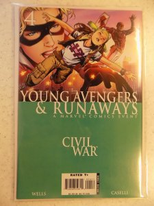 YOUNG AVENGERS AND RUNAWAYS # 4