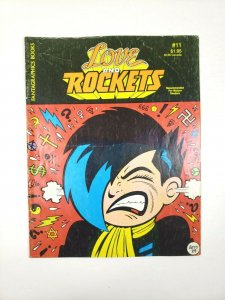 LOVE and ROCKETS #11 Fantagraphics 1st Printing 1985 Adult Comic Magazine