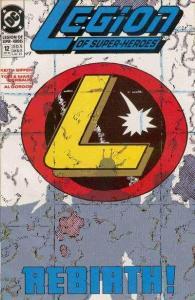 Legion of Super-Heroes (1989 series) #12, VF+ (Stock photo)
