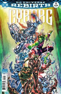 Cyborg (2nd Series) #15A VF; DC   save on shipping - details inside