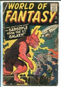 WORLD OF FANTASY #19 1959-ATLAS-HORROR-PRE SUPERHERO FORMAT-DITKO-KIRBY-good
