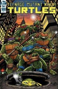 Teenage Mutant Ninja Turtles #100 Cover by DAVE GARCIA