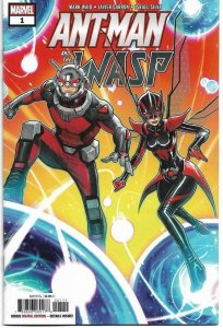 ANTMAN and the WASP #1, NM-, Mark Waid, 2018, more Marvel in store