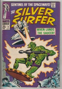 Silver Surfer #2 (Oct-68) VF/NM High-Grade Silver Surfer, Shalla Bal