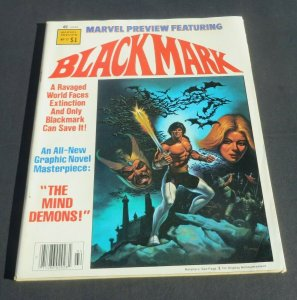 Blackmark #17 FN+ 1979 Marvel Magazine The Mind Demons Sci-Fi Superhero Gil Kane