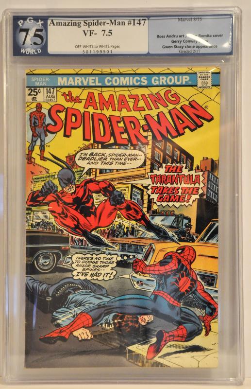 Amazing Spider-man #147 - PGX 7.5