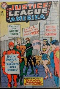 Justice League of America #28 (1964) F