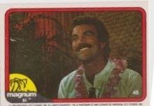 1983 Donruss MAGNUM P.I. #48
