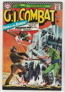 G.I. Combat #117 (May-66) FN/VF Mdi-High-Grade The Haunted Tank