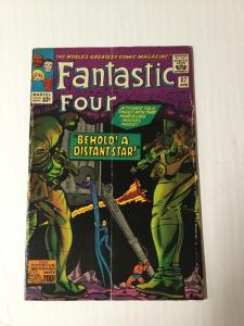Fatastic Four 37 3.5 Very Good - Vg- Subscribtion Fold Silver Age